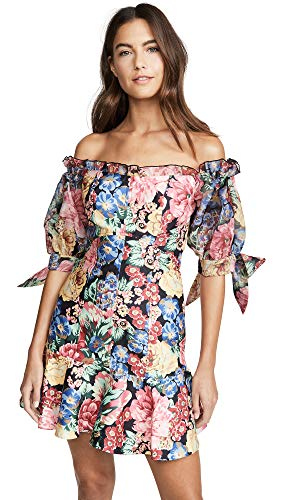 Keepsake Women's Runaway Dress, Black Hydrangea, XX-Small