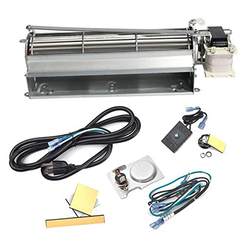 Replacement Fireplace Blower Kit for Heatilator, Majestic, Temco Fireplaces, FK4 GFK4B GFK4 Fireplace Blower Kit for Heatilator ND4236, NDV4236I, Rotom HBRB74K | Quiet Fireplace Blower