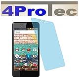 4ProTec I 2 Stück GEHÄRTETE ANTIREFLEX Bildschirmschutzfolie für Archos 50e Neon Displayschutzfolie