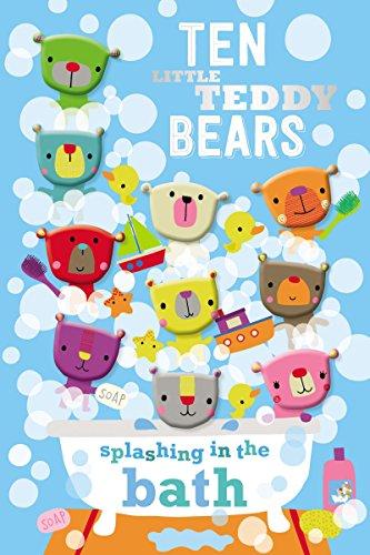 Compare Textbook Prices for Ten Little Teddy Bears Splashing in the Bath Brdbk Edition ISBN 9781785984693 by Make Believe Ideas  Ltd.