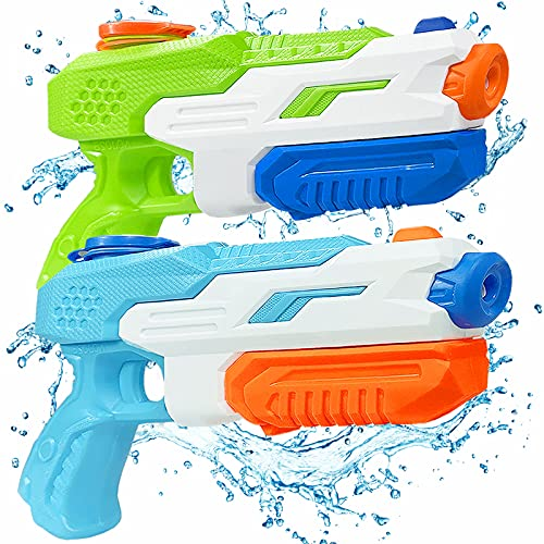 ANDSTON Water Guns for Kids, 2 Pack Super Soaker Water Gun Squirt Guns 600CC High Capacity Water...