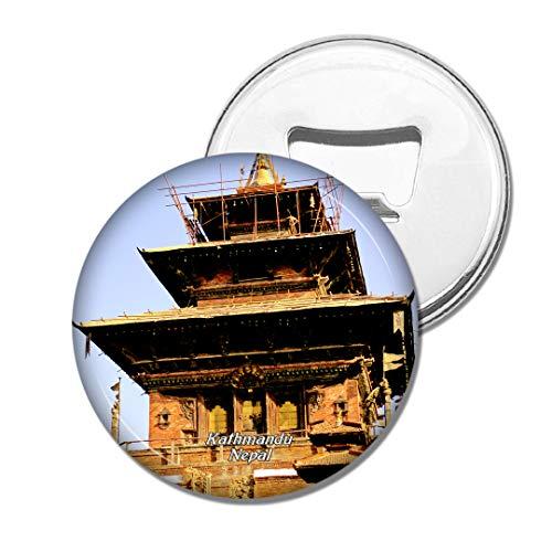 Weekino KOT Square Kathmandu Nepal Bier Flaschenöffner Kühlschrank Magnet Metall Souvenir Reise Gift