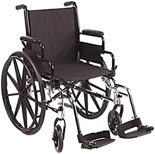Invacare 9000 SL Wheelchair 16 inch Flip Back Arm Black