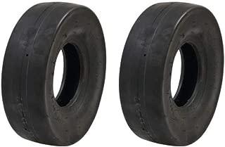 Set of (2) 4.10 x 3.50-5 Tube Type Slicks Go-Kart Go-Cart GoKart Gocart Bar Stool Racer Tires