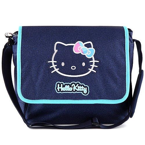 Hello Kitty 00566 Messenger Bag, Blu