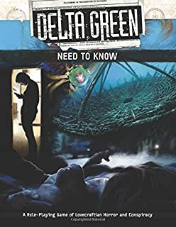Delta Green: Need to Know (Quickstart Rulebook Only)