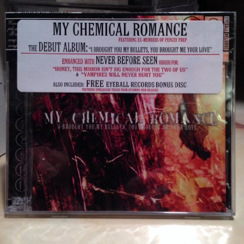 I Brought You My Bullets, You Brought Me Your Love by My Chemical Romance Enhanced edition (2002) Audio CD