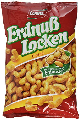 Lorenz Snack World Erdnußlocken Classic, 14er Pack (14 x 120 g)