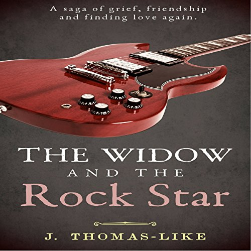 The Widow and the Rock Star audiobook cover art