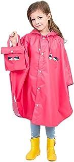 dca446425 Baiyouli Chaqueta Ligera Impermeable con Capucha para niños para niñas de 1  a 8 años