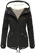 $27 » Emimarol Women's Waterproof Ski Jacket Warm Winter Snow Coat Mountain Windbreaker Hooded Raincoat