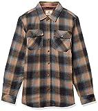 Legendary Whitetails Men's Standard Archer Thermal Lined Flannel Shirt Jacket, Sky, X-Large