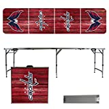 Victory Tailgate 8 Foot Portable Folding Tailgate Table - Weathered Version -...