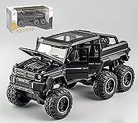 Youwo ベンツG 63合金モデル1/32クロスカントリー車の減震六輪車モデル (1)