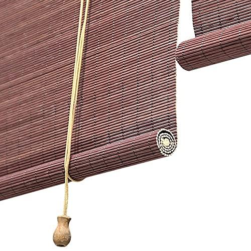 HJRBM Persianas enrollables de Montaje Exterior - Puerta/Gazebo/Balcón/Persianas Opacas Exteriores - 80 cm / 90 cm / 100 cm / 120 cm / 130 cm de Ancho (Tamaño: 100 × 120 cm / 39,4 × 47,2 Pulgadas)