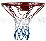 Kimet Hang Anneau Basket Panier de Basket avec Anneau métal réseau Enfants 37cm/45cm