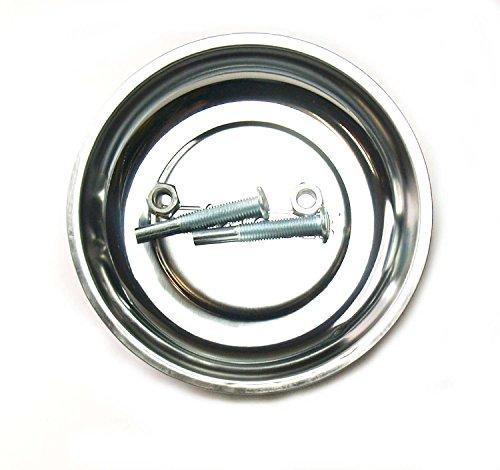 Craft-Equip Ø 150mm Magnetschale mit Schonfuß Haftschale Magnet Schrauben Teller