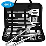 VPCOK 33 in 1 Attrezzi Barbecues Utensili Barbecue Kit Barbecue Barbecue Posate Set di Gri...