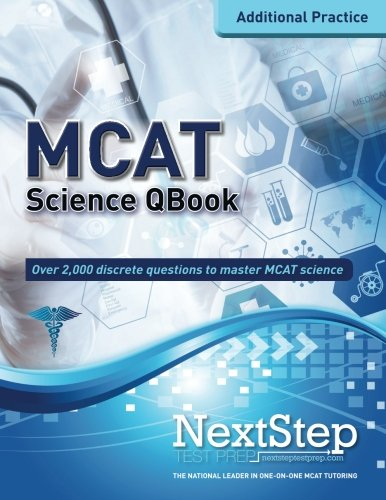 Mcat Qbook Over 2 000 Questions Covering Every Mcat Science Topic More Mcat Practice