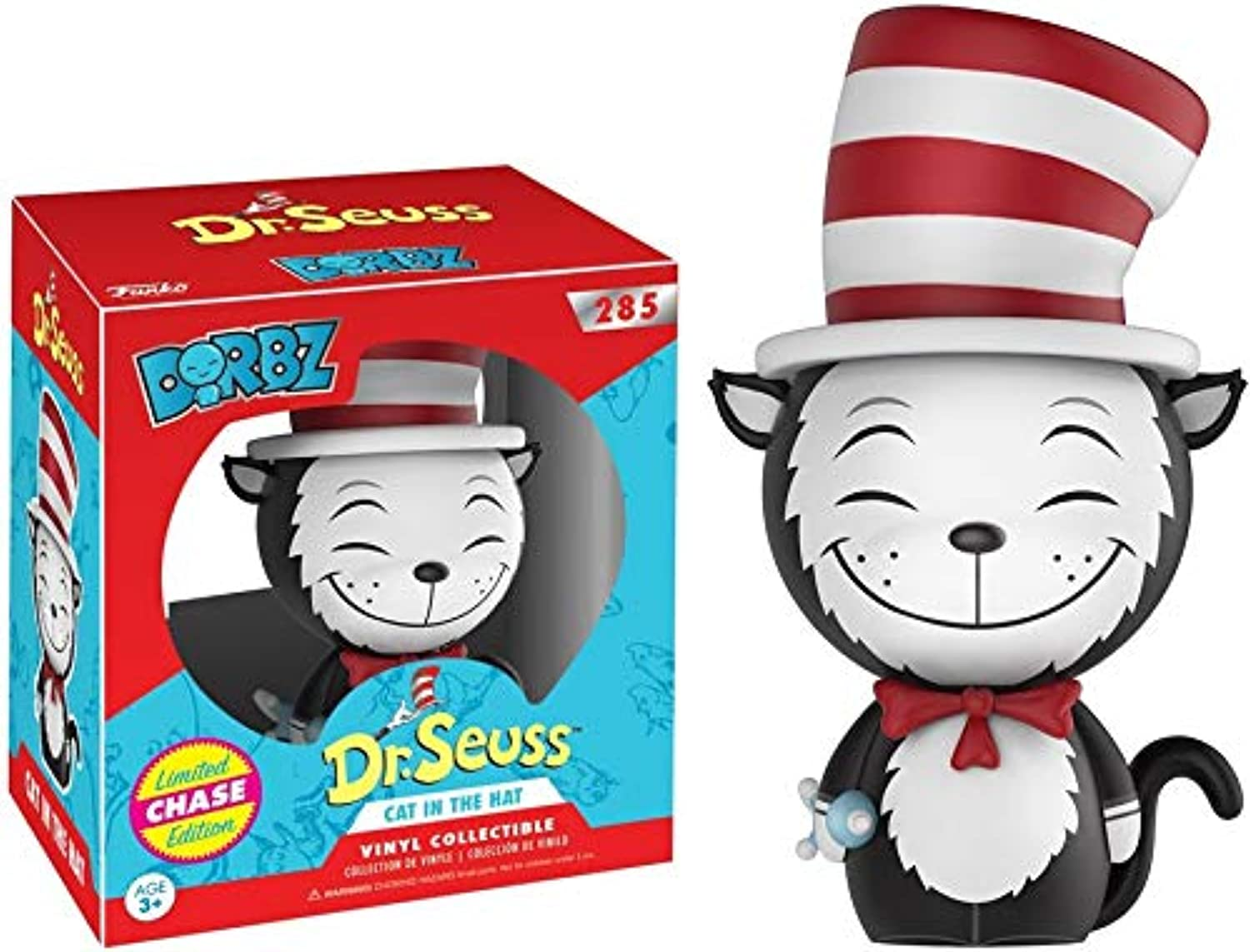 Funko Dorbz  Dr. Seuss  Cat in The Hat Vinyl Figure Chase Variant