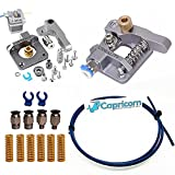 Authentic Creality Aluminum Extruder Upgrade Kit for All Creality Printers with Capricorn PTFE Teflon Tubing, Upgraded Premium Metal Bed Springs, PC4-M10 Pneumatic Fittings and Two Blue Collet Clips
