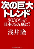次の巨大トレンド 2030年が日本のどん底だ!