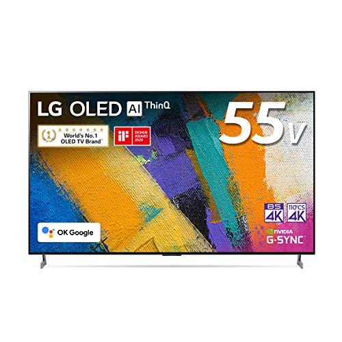 {LG 55型 4Kチューナー内蔵 有機EL テレビ OLED 55GXPJA Alexa 搭載 2020 年モデル}