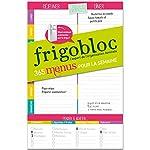 FrigoBloc Mes menus de la semaine - Un bloc maxi-aimanté pour organiser tous les repas de la semaine ! de Play Bac