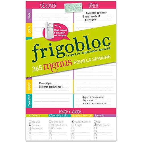 FrigoBloc Mes menus de la semaine
