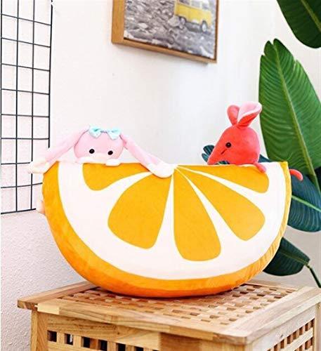 nobrand Geburtstag Kisse Personality Obst Plüschtier einfache bewegliche Kissen Kinder Urlaub weiche Spielzeug-Geschenk-Dekoration Gemütliche Kissen Kreative Kissen