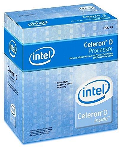Intel Celeron 341 Prozessor 2,93 GHz Box 0,256 MB L2 - Prozessoren (Intel® Celeron® D, 2,93 GHz, LGA 775 (Socket T), 90 nm, Intel Celeron D 300 Series, 0,256 MB)