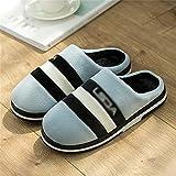 SKREOJF Zapatillas de algodón para mujer, zapatillas de...