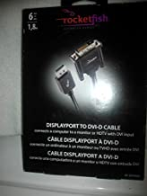 Rocketfish - 6' DisplayPort-to-DVI-D Cable