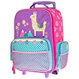 Stephen Joseph Kids' Toddler Classic Rolling Luggage, Llama,...