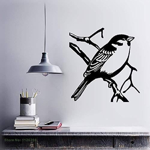 Vivityobert Pájaro En Rama Árbol Arte