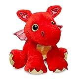 Aurora World 60858Sparkle Tales Sizzle Dragon Peluche, Rouge, 30,5cm
