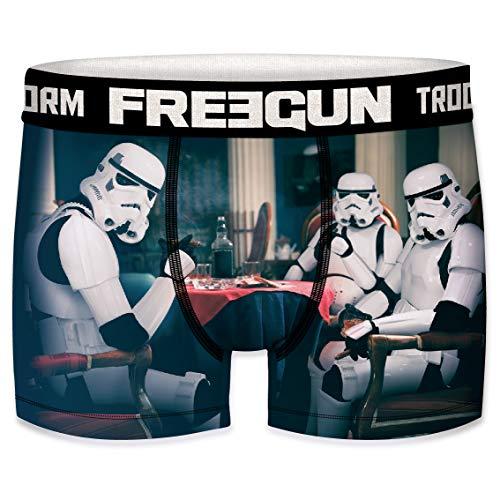 FREEGUN Star Wars Herren Boxershorts Funny Stormtrooper Krieg der Sterne Meme Druck 1er Pack S M L XL XXL, Größe:L, Farbe:Motiv 5 (SFSTT31BMPOK)