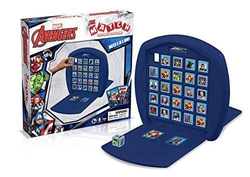 Top Trumps Marvel Avengers Assemble Match Board Game Marvel Avengers Match