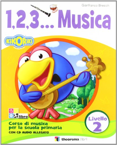 1.2.3...MUSICA 2 LIV.+CD: Vol. 2