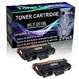 2-Pack Black Compatible Laser Printer Cartridge (High Yield) Replacement for Samsung MLT-D116L MLTD116L D116L Imaging Cartridge use for Samsung Xpress SL-M2885FW SL-M2875DW Printer