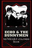 Echo & the Bunnymen Distressed Coloring Book: Artistic Adult Coloring Book