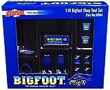 GMP Shop Tool Set of 6 Pieces Bigfoot #1 The Original Monster Truck 1/18 Diecast Replica 18944