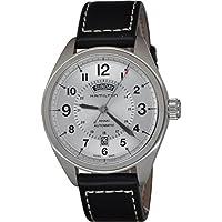 Hamilton Khaki Field White Dial SS Leather Automatic Men's Watch