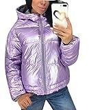 Abrigos Ligeros para Mujer Outwear, Abrigo Acolchado con Capucha de Invierno Chaqueta para Abajo Parka Outwear