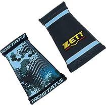 ZETT(ゼット) 野球 プロステイタス リバーシブルリストバンド ネイビー BW191