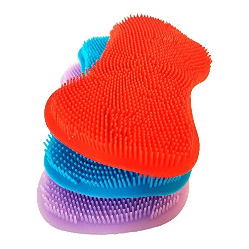 Lubrima Silicone Sponge Dish Sponge - Kitchen Sponges Kitchen Dishes Silicone Scrubber Kitchen Sponge Dish Sponges Washing Gadgets Tools Brush Accessories Cleaning Scrub Silicone Sponges
