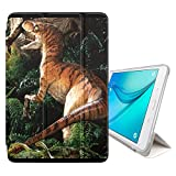 STPlus Dinosaur Prehistoric Animal Smart Cover With Back Case + Auto Sleep/Wake Function + Stand for Samsung Galaxy Tab A - 10.1' (2016) (T580/T585 Series)