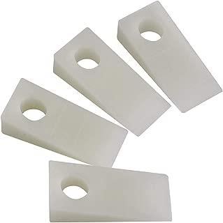 Katzco Plastic Doorway Wedge Kit – 4 Pieces Thin Door Propping Tool - Ideal for Car Repair Accessories, Door Jam Instrument, Handy Equipment, Prop for Holding Open Automobile Windows and Doors