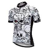 Cráneo Ciclismo Jersey de los Hombres del Pirata Ropa de la Bicicleta Ciclismo Maillot Pro Team MTB Ciclismo Jersey Camisa Ropa Ciclismo (Color : Model 14, tamaño : M)