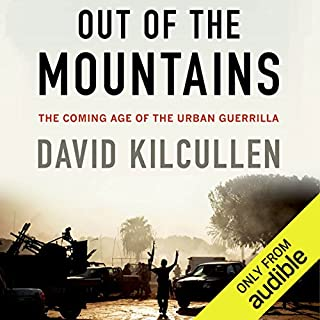 Out of the Mountains audiobook cover art